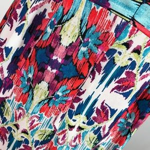 Chris Mclaughlin Dresses - Chris McLaughlin Dress Red Floral Print  Size 6